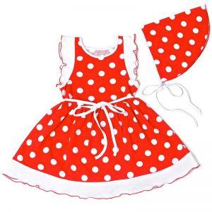 Платье с косынкой