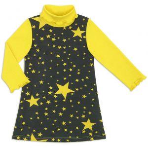Платье водолазка для девочки Звездопад