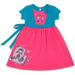 Платье ясельное для девочки Бантик