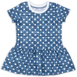 Платье ясельное для девочки Горошек