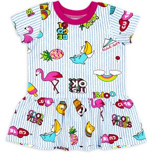 Платье ясельное для девочки OK