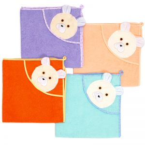 Полотенце-уголок детское для купания