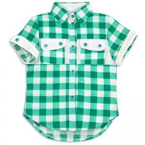 Рубашка для девочки Лён