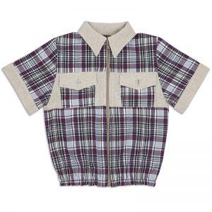 Рубашка для мальчика Лён
