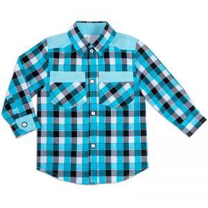 Рубашка для мальчика Шотландка №4