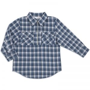 Рубашка для мальчика Шотландка №5