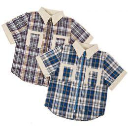 Рубашка короткий рукав №3