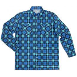 Рубашка мужская длинный рукав фланель