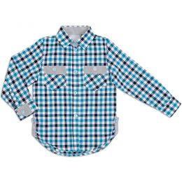 Рубашка шотландка для девочки