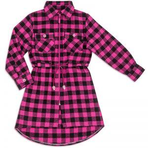 Рубашка-туника для девочки Фуле