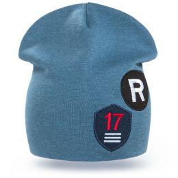 Шапка для мальчика трикотажная R-17