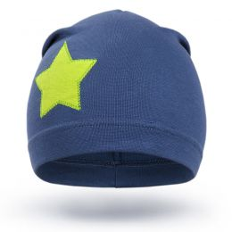 Шапка трикотажная для мальчика Звезда