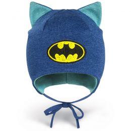 Шапка ясельная трикотажная Бэтмен