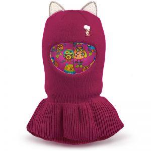 Шапка-шлем для девочки Ушки