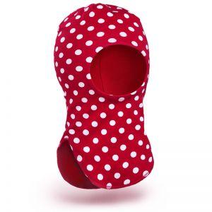 Шапка-шлем для девочки трикотаж №4