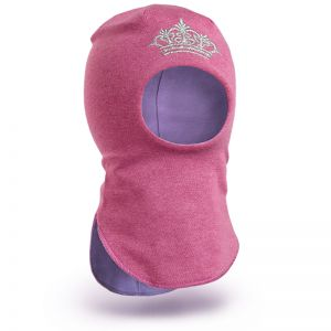 Шапка-шлем для девочки трикотаж №7