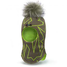 Шапка-шлем для мальчика Зиг-Заг