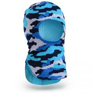 Шапка-шлем для мальчика трикотаж №3