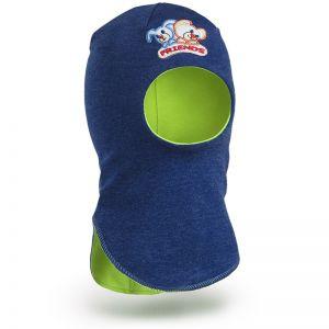 Шапка-шлем для мальчика трикотаж №4