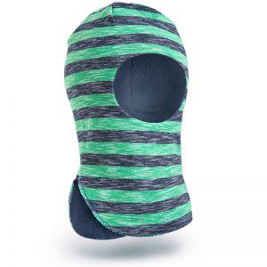 Шапка-шлем для мальчика трикотаж №6