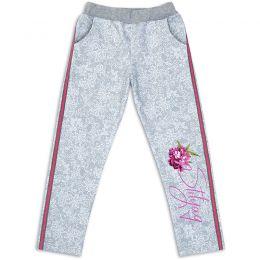 Штаны спортивные для девочки Цветок