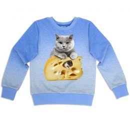 Свитшот Кот на сыре