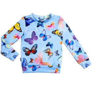 Свитшот для девочки Бабочки