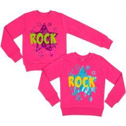 Свитшот для девочки ROCK
