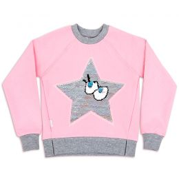 Свитшот для девочки Звезда