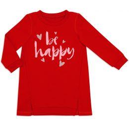 Туника для девочки Be happy